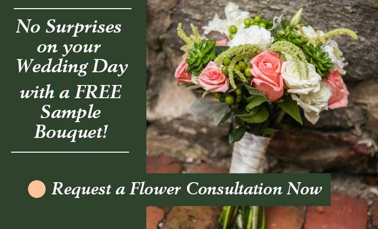 Complimentary Wedding Flower Constulation Amaranth Florist, Wedding Flowers