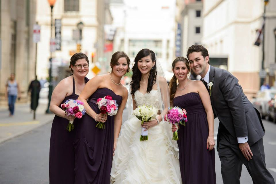 View More: http://mikelandisphotographer.pass.us/lisadougwedding bridal_party