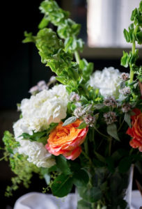 summer wedding bouquet, Amaranth Florist