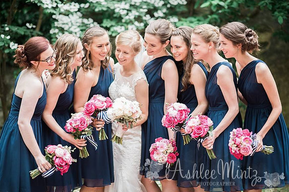 pink-blue-wedding-party