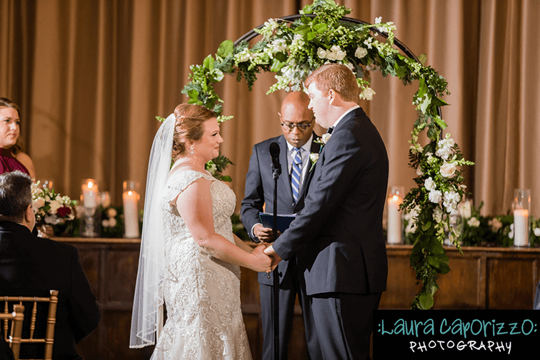 merion tribute house wedding amaranth florist ceremony